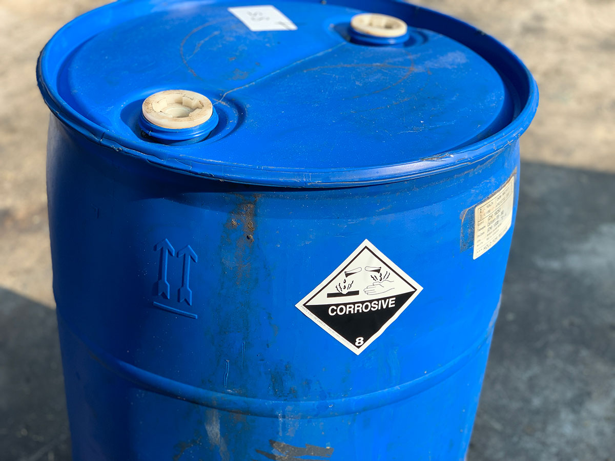 Acidic and Caustic Waste