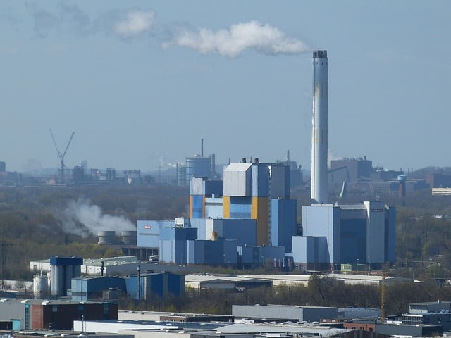 incineration building